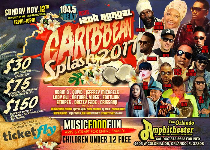 Caribbean Splash 2k17 november 12
